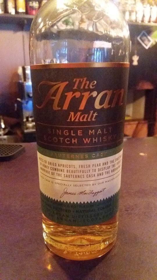 The Arran Malt Sauternes Cask Finish