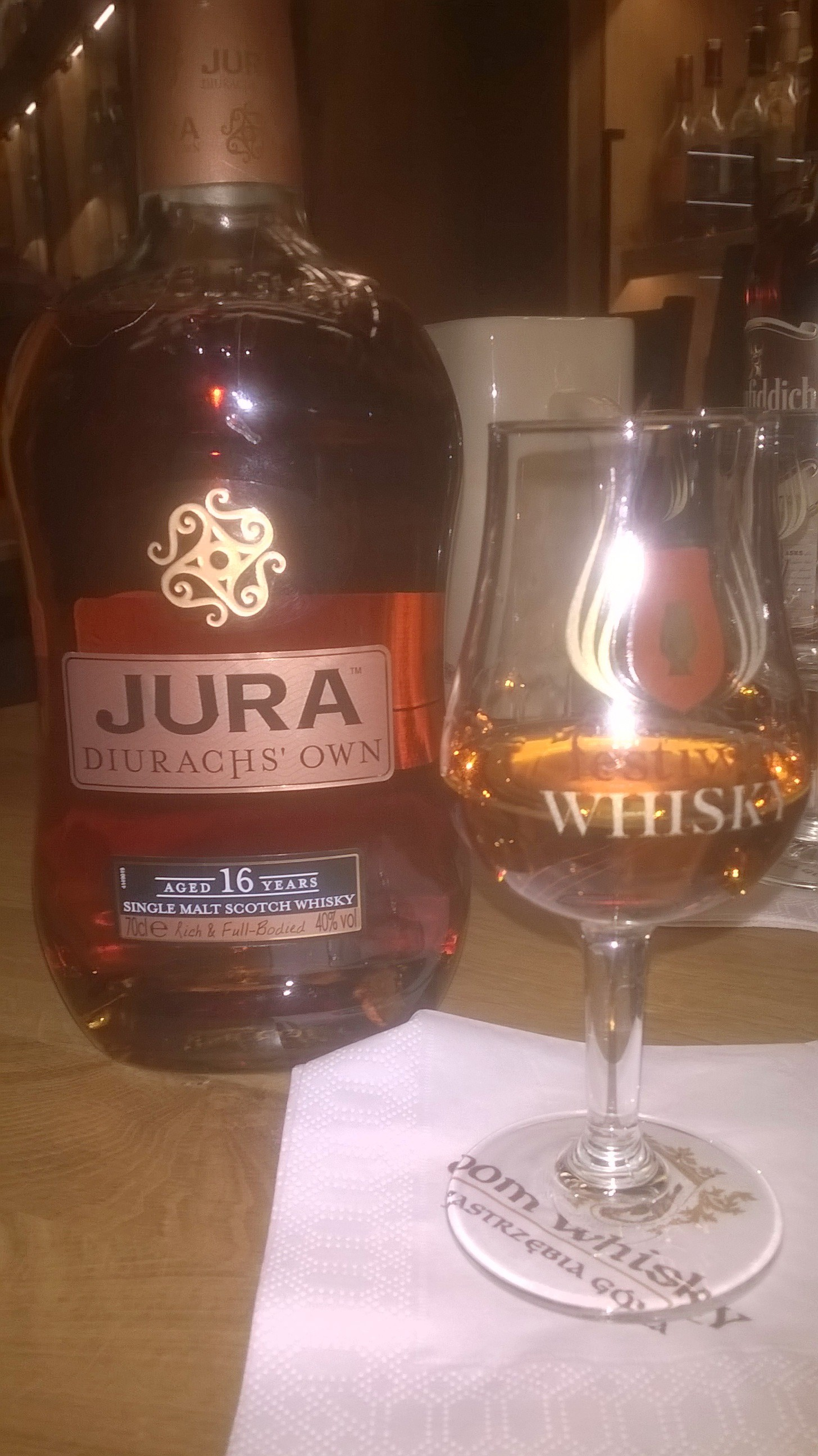Isle Of Jura 16 Year Old Diurachs Own