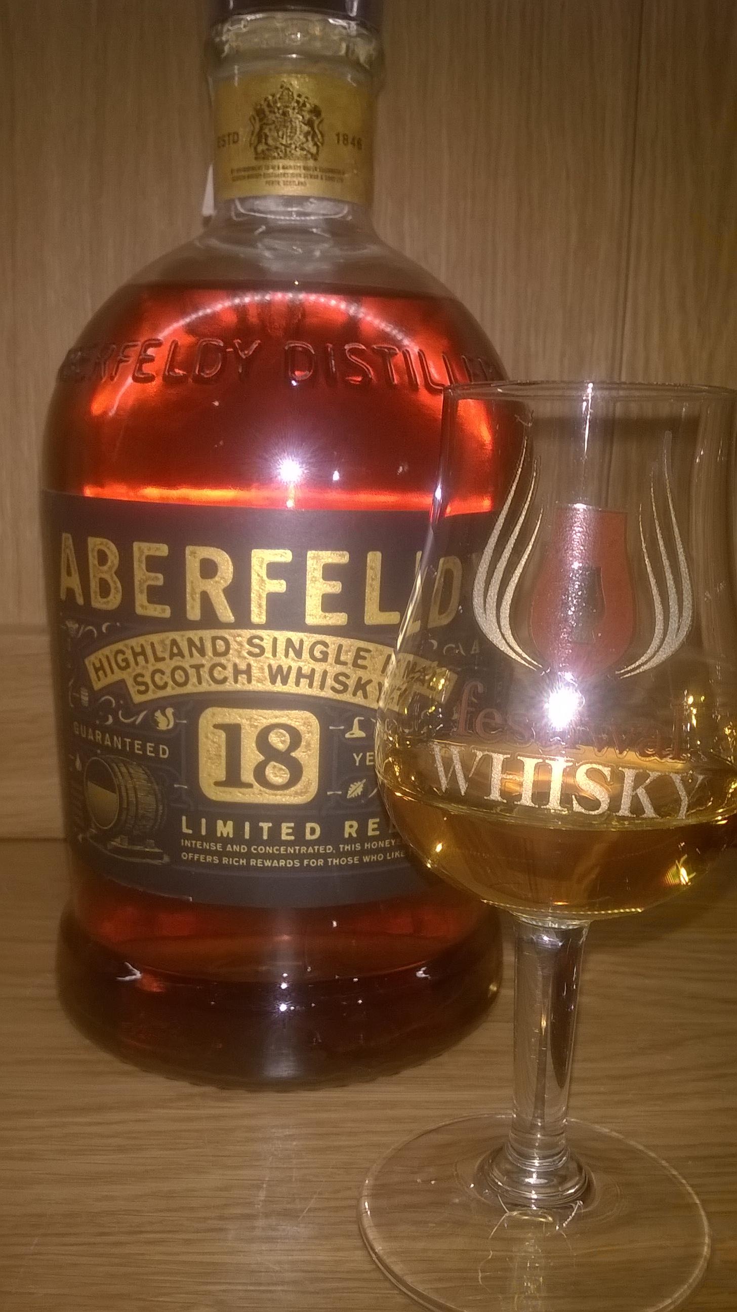 Aberfeldy 18 Year Old