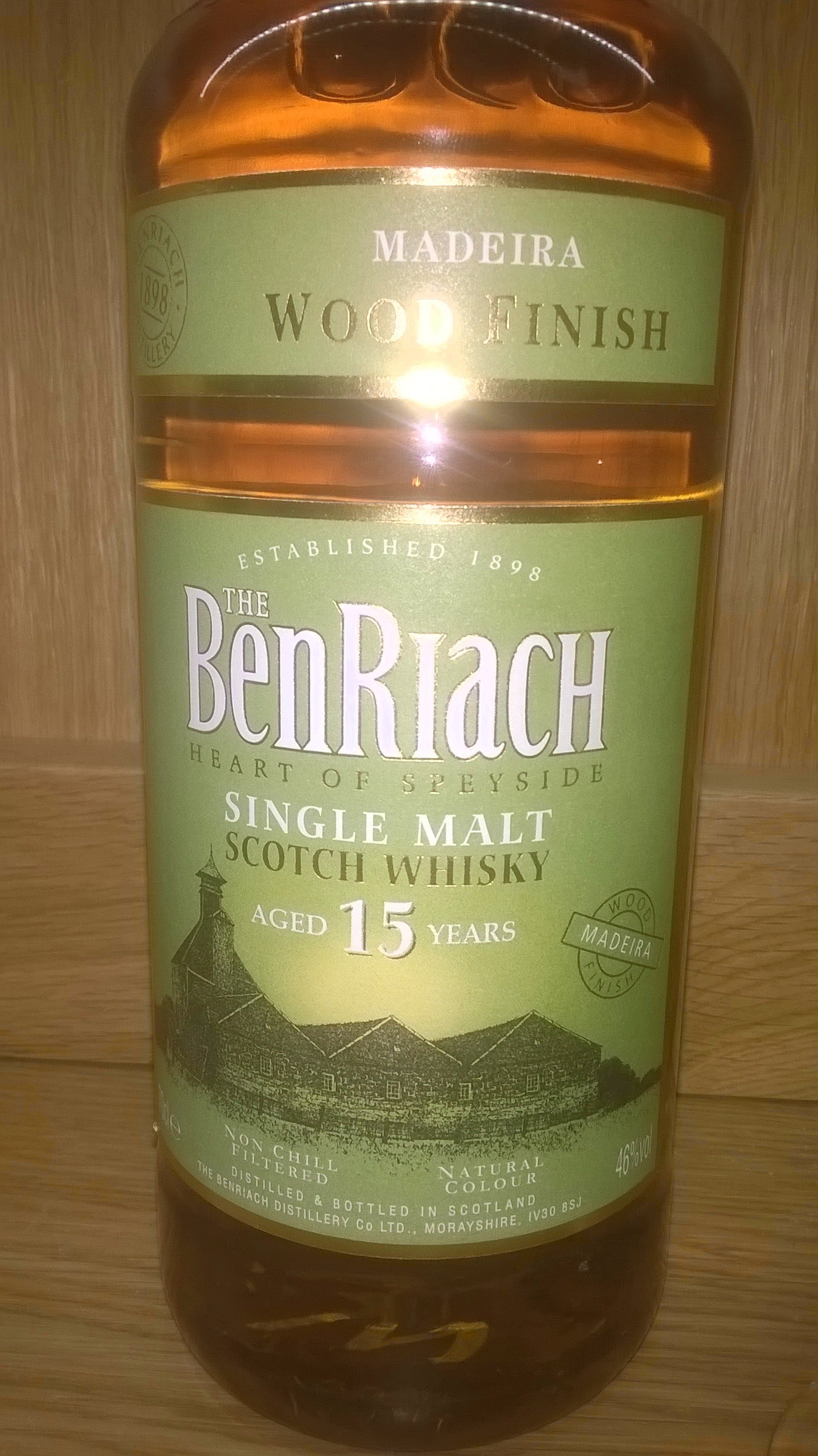 BenRiach 15 Year Old Madeira Cask Finish