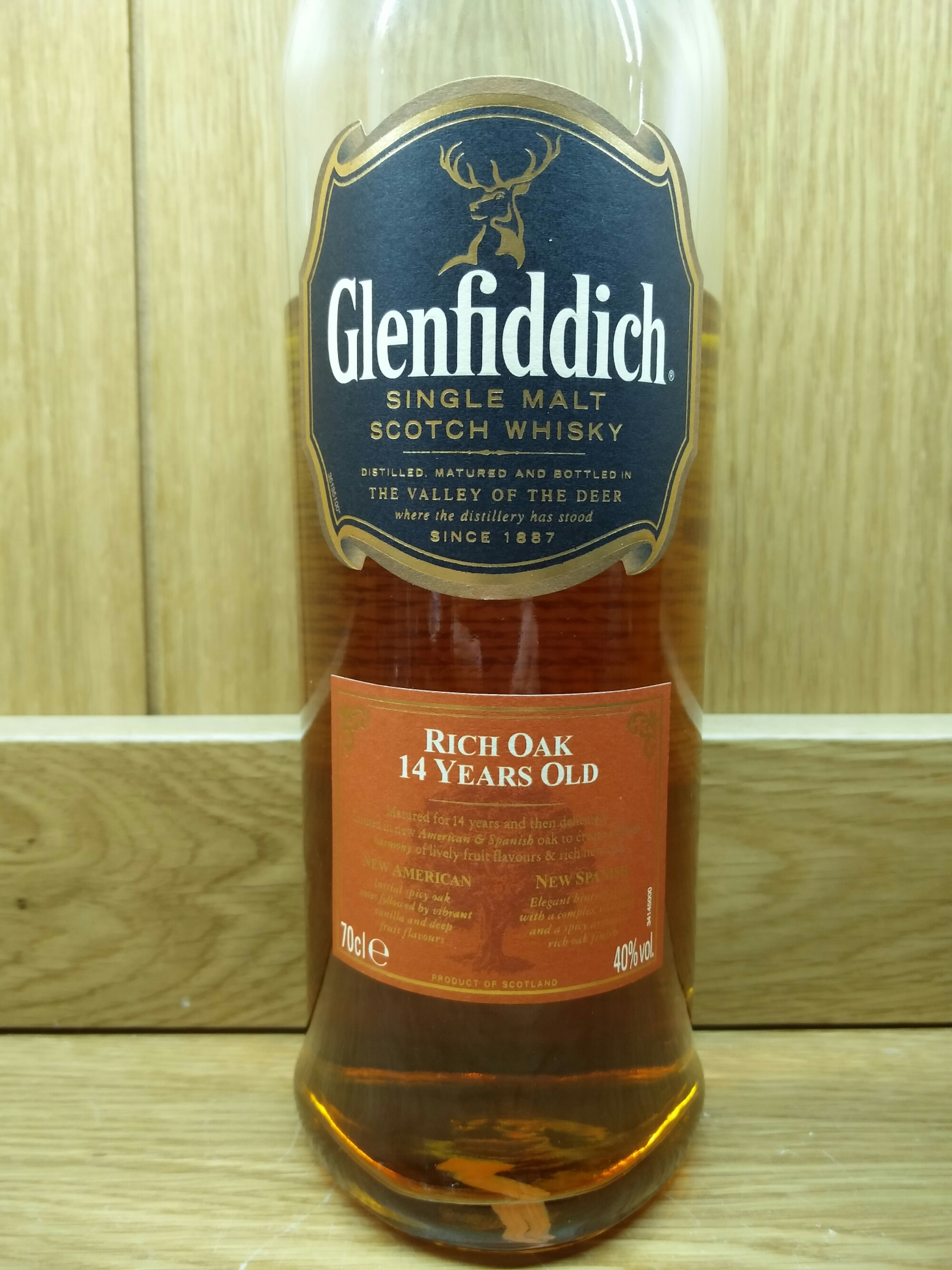 Glenfiddich 14 Year Old Rich Oak