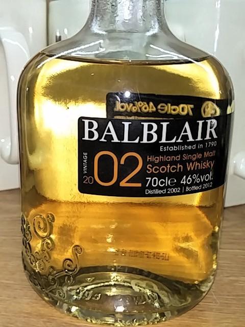 Balblair 2002 (Bottled 2012)