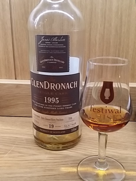 Glendronach 1995 Single Cask - 19 Year Old