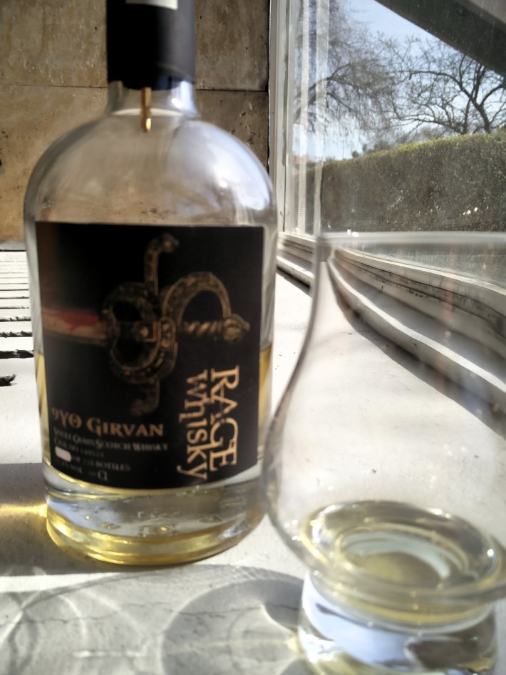 Rage Whisky GIRVAN 9 Years Old