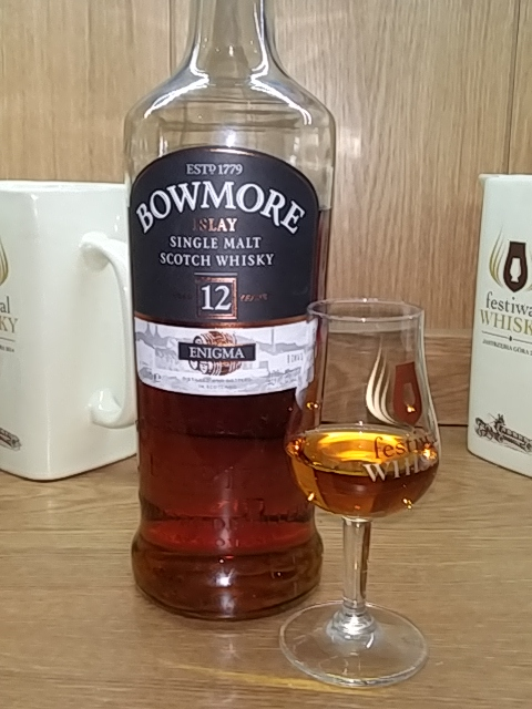 Bowmore 12 Years Old Enigma
