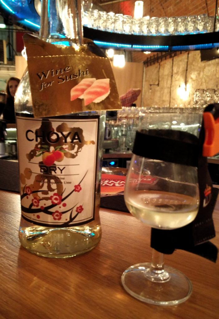 Choya Dry - Wine for sushi