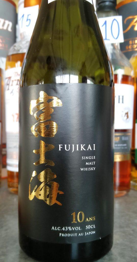 Fujikai 10 year old Japanese Single Malt Whisky