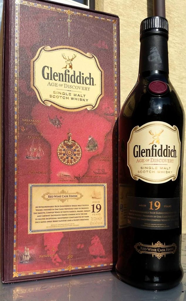 Glenfiddich19 Year Old Red Wine Cask Finish