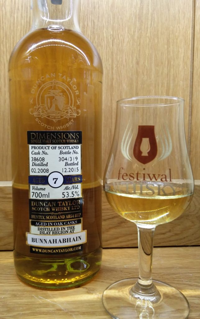 Duncan Taylor Bunnahabhain 7 Years Old Dimensions Cask Strength