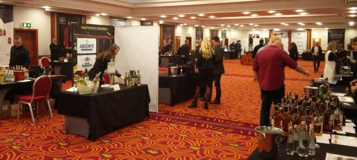Whisky & Friends - na chwilę przed nadejściem gości festiwalowymi.