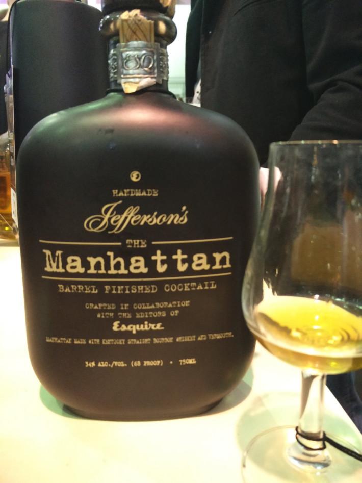 Poznań Whisky Show - Jefferson's Manhattan - leżakowany koktaj