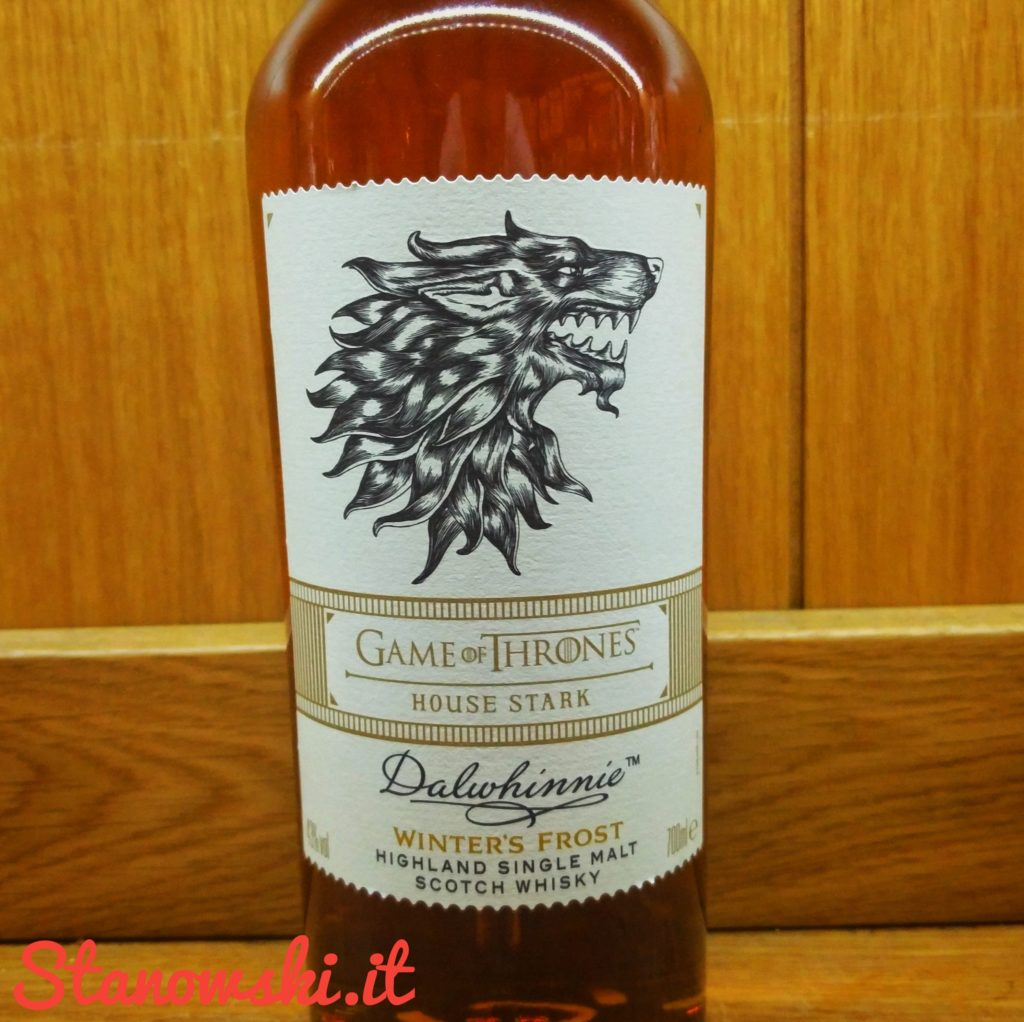 Dalwhinnie Winter's Frost Game of Thrones House Stark