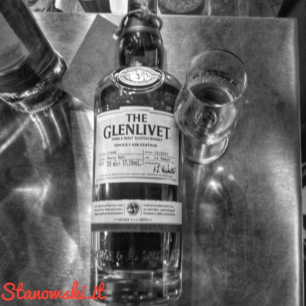 The Glenlivet 14 Years Old Single Cask 2017