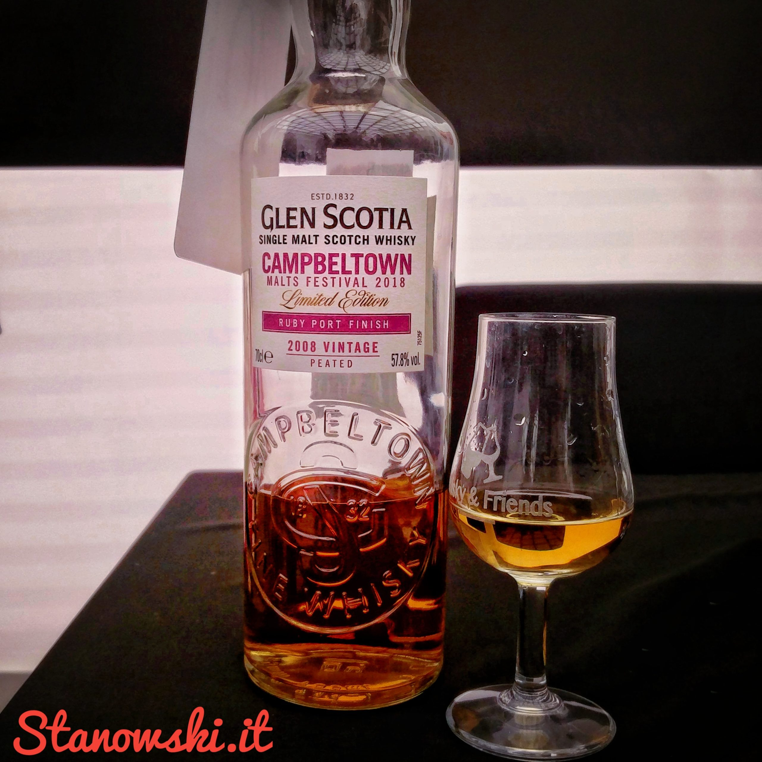 Glen Scotia 2008 Port Cask Finish