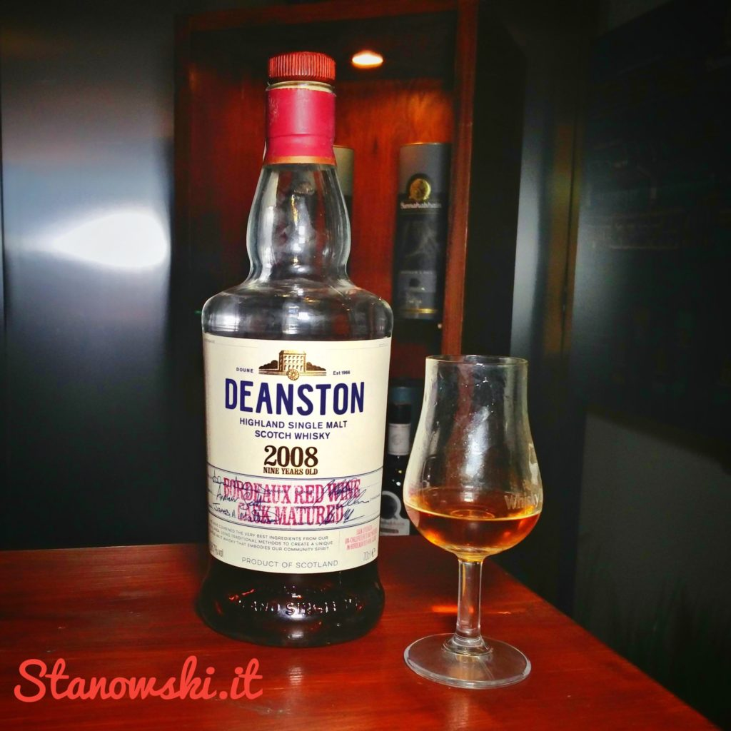 Deanston 2008 Bordeaux Red Wine Matured