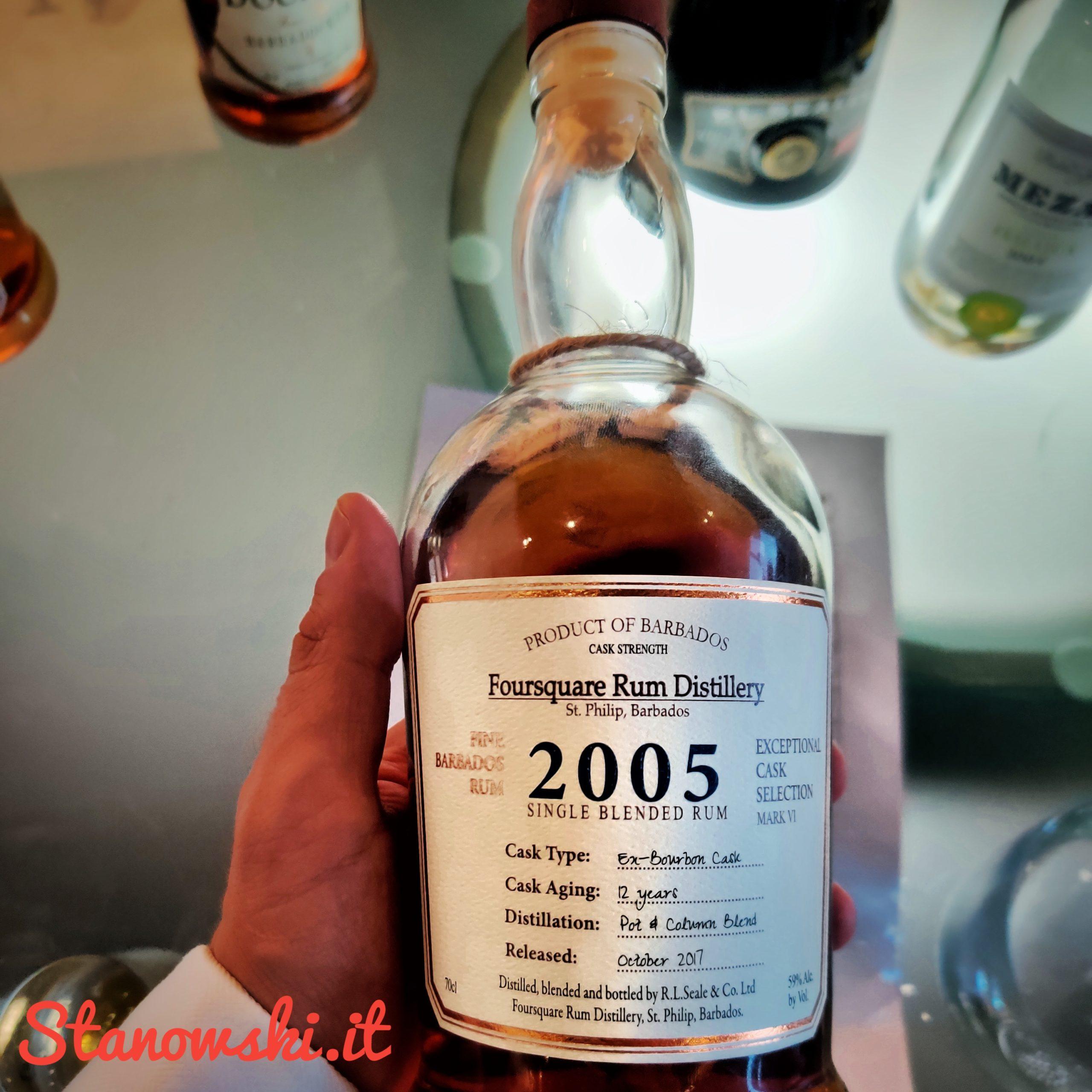 Foursquare 2005 Rum