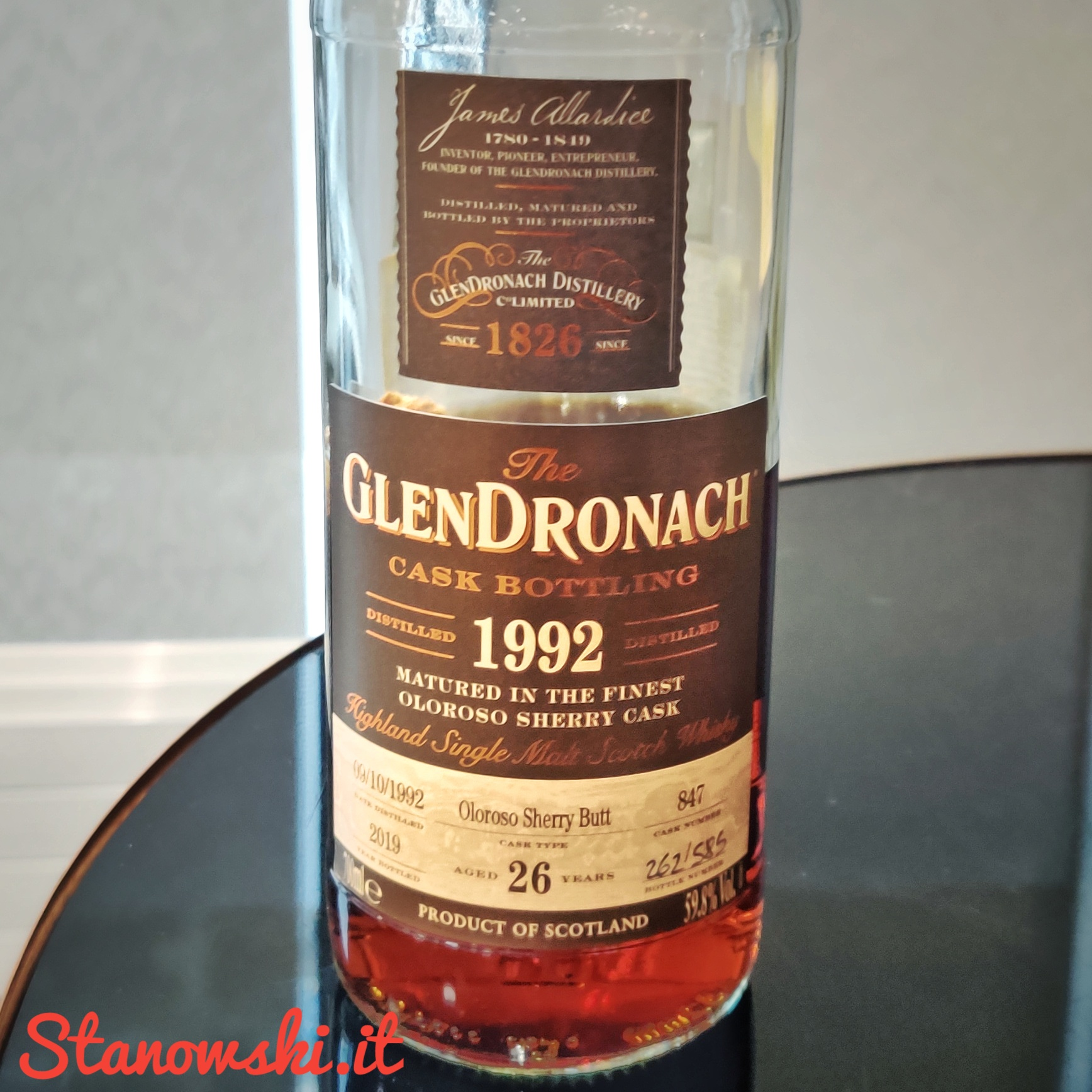 GlenDronach 26 Year Old 1992