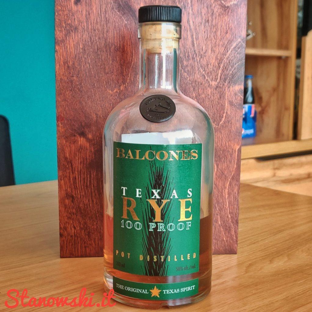 Balcones Texas Rye
