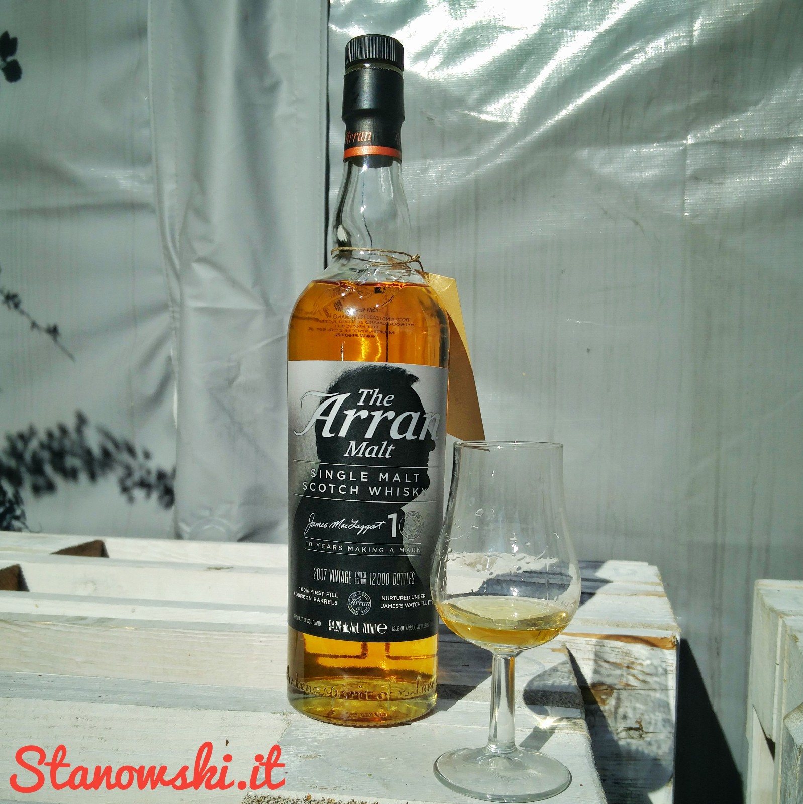 Arran 10 Year Old - Vintage 2007