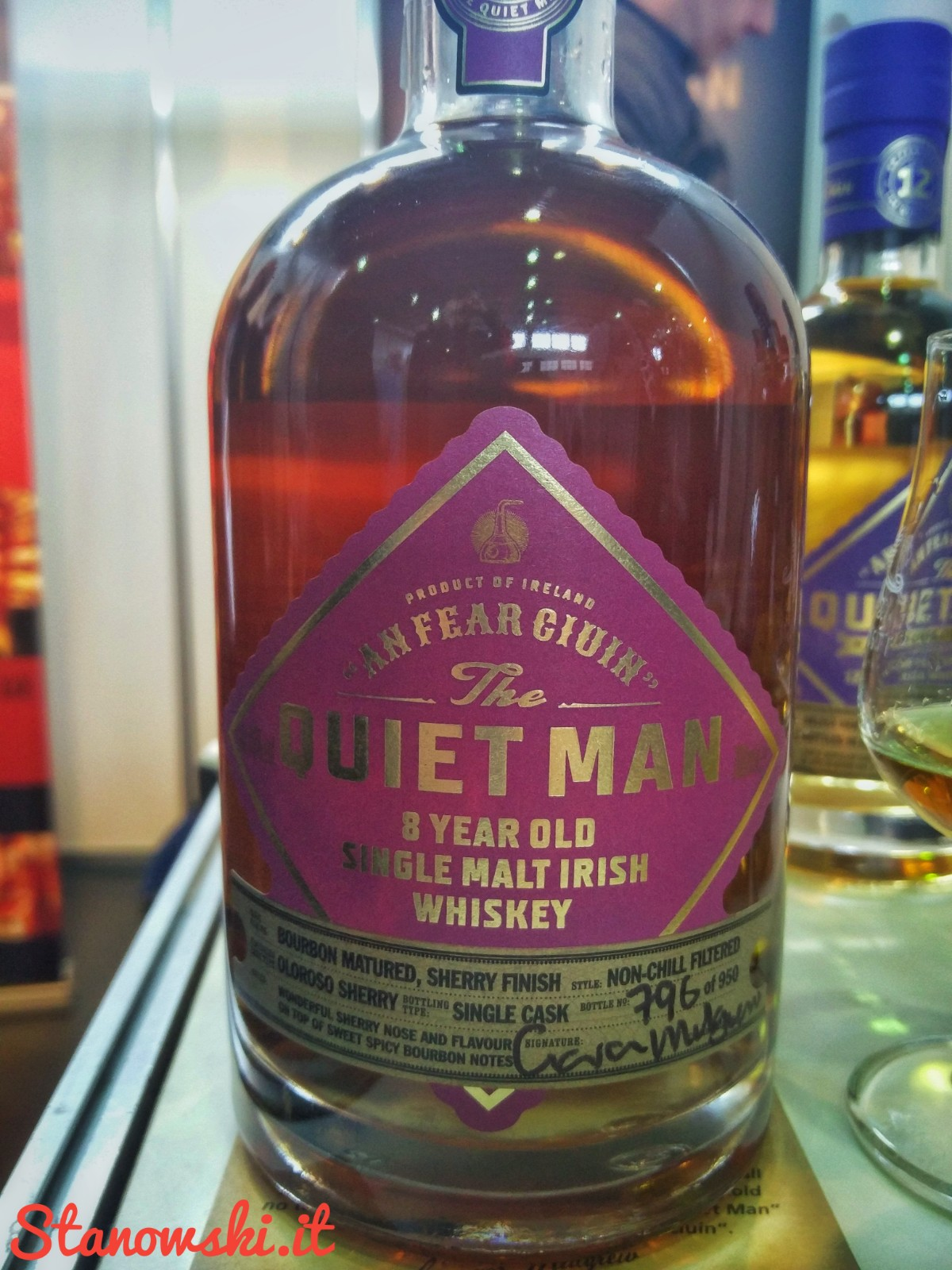 The Quiet Man 8 Year Old Sherry Cask Finish