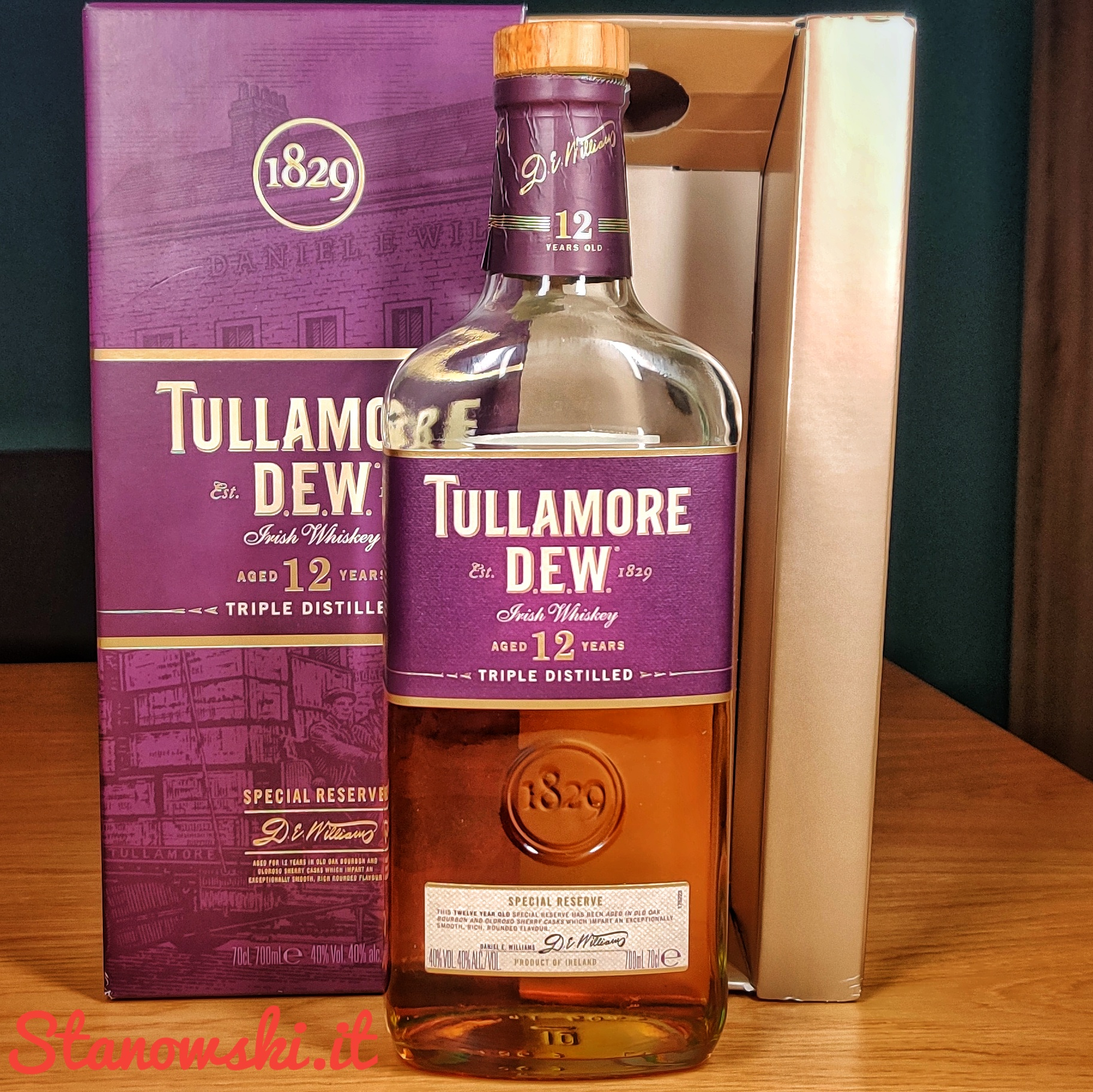 Tullamore D.E.W. 12 Year Old